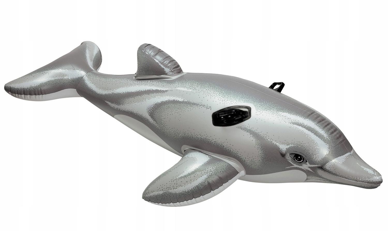Materac dmuchany do wody delfin INTEX 58535